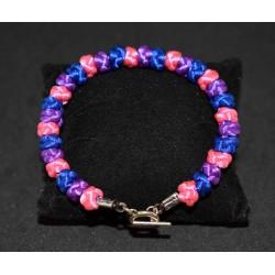 Bracelet en noeuds  chinois boules